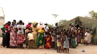 Dad badan oo u barakacay xeryaha ku dhaw Yola ee Nigeria