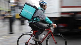 Deliveroo rider