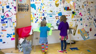 Children at the Gallery of Modern Art