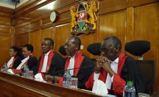 Garsoorayaasha maxkamada ugu sareysa ee Kenya