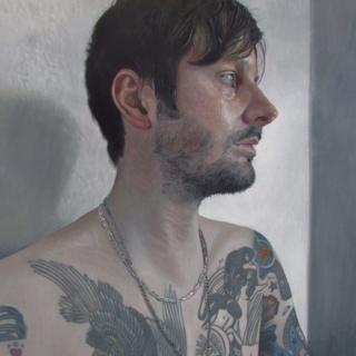 Self-portrait by Steve Higginson