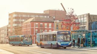 Bus services in Tees Valley