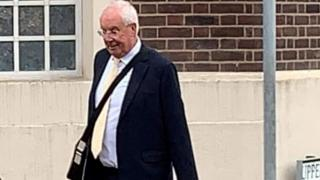 Ray Oxby at Grimsby Magistrates' Court