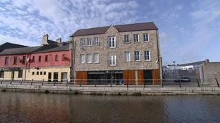 First Derivatives' head office is based on Canal Quay, near Sugar Island, in Newry city centre