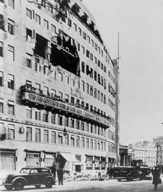 El bombardeo de Broadcasting House