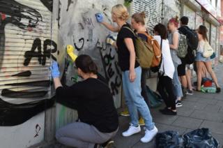 Hamburg clean-up, 10 Jul 17