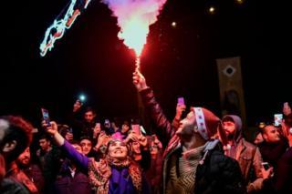 Taksim yeni yıl kutlamaları