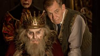 Sir Anthony Hopkins and Sir Ian McKellen in The Dresser