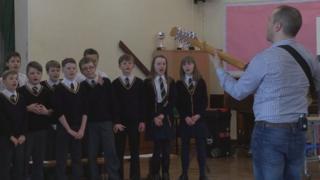 Forthill singing