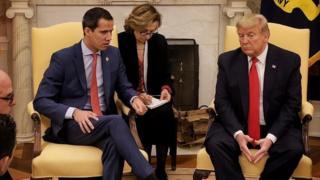 Trump y Guaidó