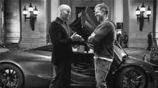 """On the set of """"Hobbs and Shaw"""""""