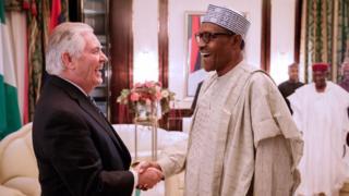 Tillerson ati Buhari