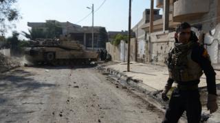 صورة لمقاتل عراقي من القوات الخاصة