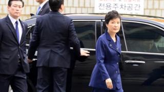 Güney Kore eski Cumhurbaşkanı Park Geun-hye