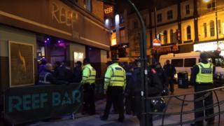 Reef Bar raid in Warrington