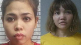 Siti Aisyah dan Doan Thi Huong