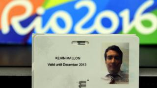 Удостоверение Кевина Мэллона