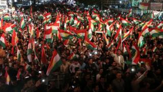 تظاهرات کردهای عراق