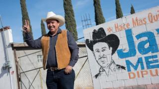 Javier Meléndez, a local farmer turned politician