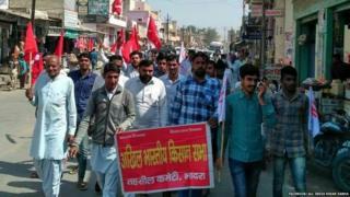 राजस्थान में किसान आंदोलन