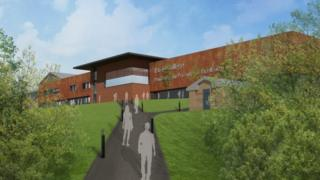 An artist's impression of the £6.6m A-level centre at Pembrokeshire College