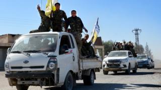Kekuatan anti-ISIS di Raqqa, Suriah