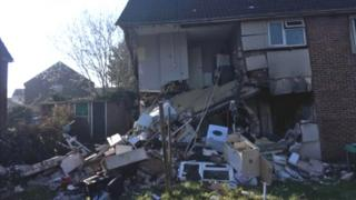 Damage to flats
