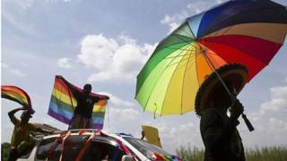 Uganda first gay pride march