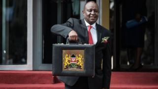 Waziri wa fedha Kenya Henry Rotich