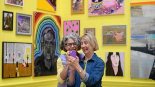 The Summer Exhibition at the Royal Academy