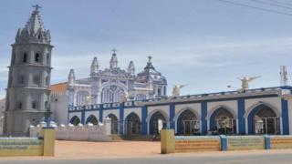 தூத்துக்குடி மக்களவைத் தொகுதியிலுள்ள பனிமாதா தேவாலயம்