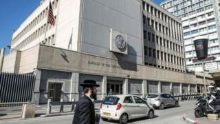 سفارت آمریکا در تل آویو