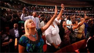 Američke megacrkve privlače hiljade vernika