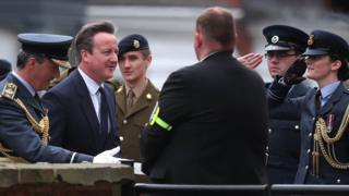 David Cameron in Cleethorpes