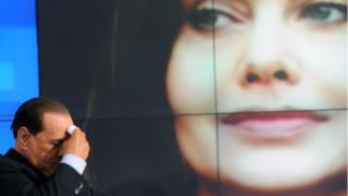 Сильвио Берлускони и Вероники Ларио