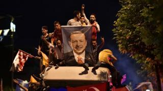 Erdoğan ve kutlamalar