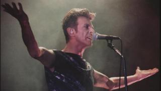 Bowie in concert at Wembley