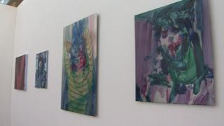The Eisteddfod's art exhibition has taken over the Senedd building