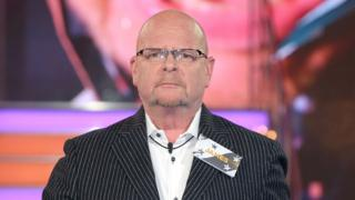 James Whale on Celebrity Big Brother