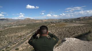 Граница между США и Мексикой