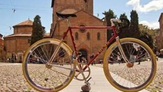 Bicicleta en Boloña