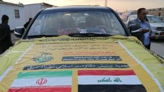 کاروانهایی از جنبش النجباء، از دیگر گروههای شیعی عضو الحشد الشعبی عراق به ایران آمده است