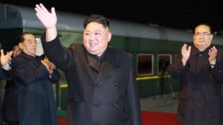 김정은 북한 국무위원장이 북러정상회담에 참석하기 위해 24일 새벽 러시아를 향해 출발했다