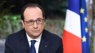 French President Francois Hollande, 11 Feb 16