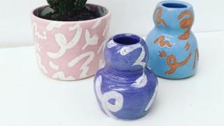 Sarah Wilton's pots
