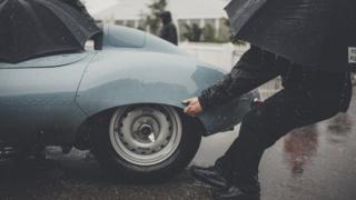 2017年古德伍德古董车赛期间一个雨天