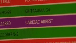 ambulance control room screen