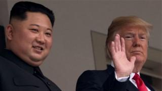 ઉત્તર કોરિયા અને અમેરિકા
