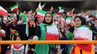 Wanawake 3,500 walihudhuria mechi ya kufuzu kwa kombe la dunia mjini Tehran