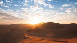 Deserto da Namíbia